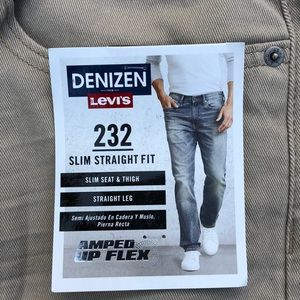 Denizen from Levi's Jeans - Levi's Denizen 232 Slim Straight Fit Jeans